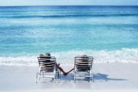 chairs on beach. Lounge Chairs on Orange Beach