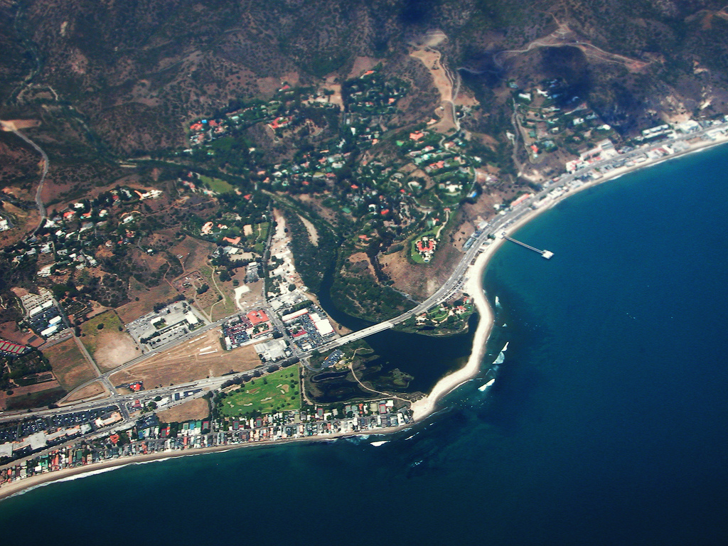 Malibu celebrity homes map san diego