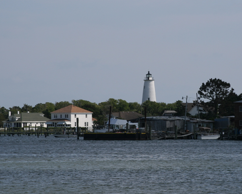lake ocracoke island outer banks north carolina united states