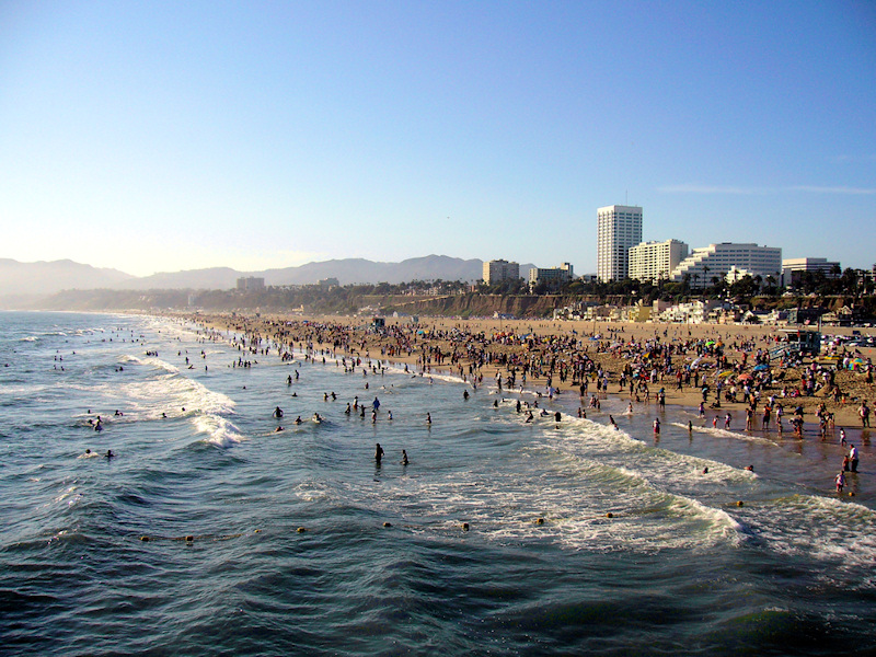 Santa monica california worlds best beach towns for Beach cities in california